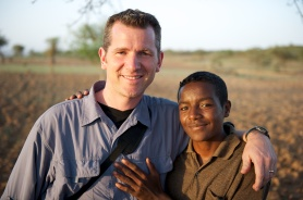 Scott and Gamechu in Ethiopia