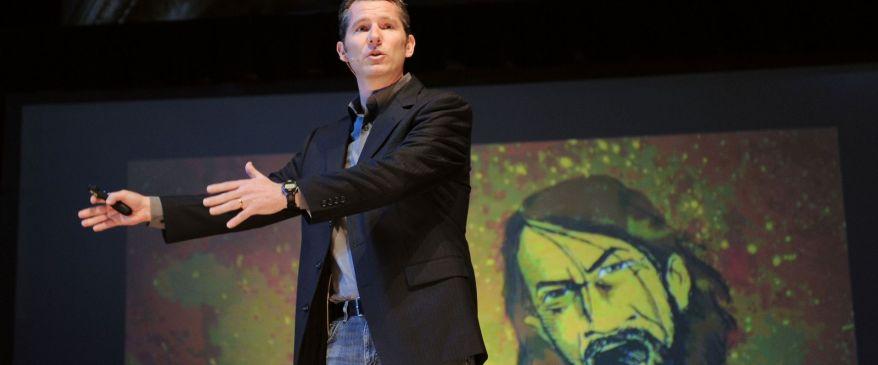 Speaking at Q, 2011