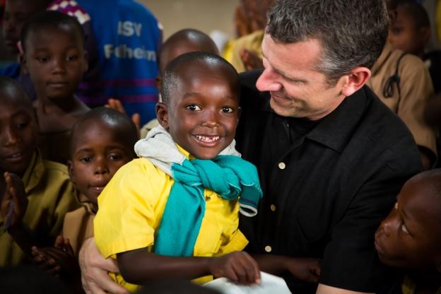 Scott in Kenya
